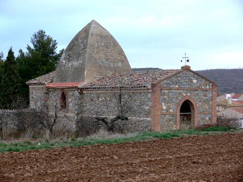 RINCON DE OLIVEDO o LAS CASAS (Pueblo de Cervera del Río Alhama). Ermita de San Pedro Mártir (1907). CEMENTERIO.