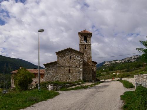Figols church, by Julio M. Merino