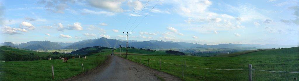 Panorama od Smrecian 1
