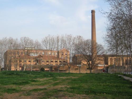 fàbrica - colònia Güell