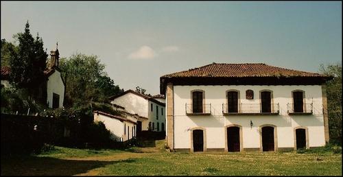 Palacio de Casares, San Tirso, Candamo.