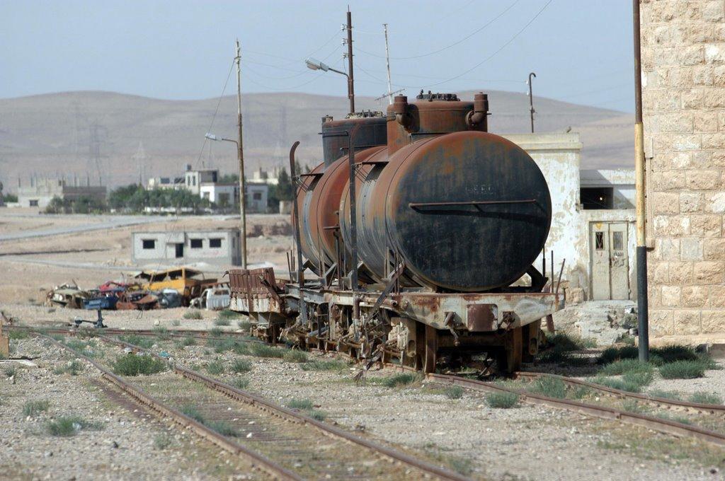 Recuento Oblea tiburón  Hejaz Railway Station El Qatrana - Jordan   Mapio.net