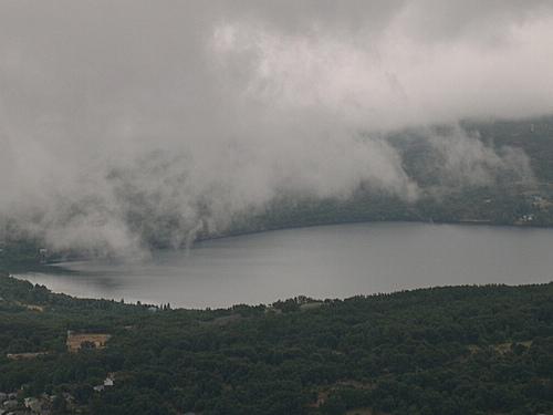Lago de Sanabria desde Murias