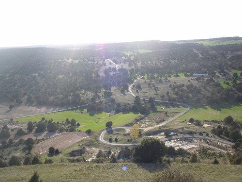 vistas desde el castillo de Codes