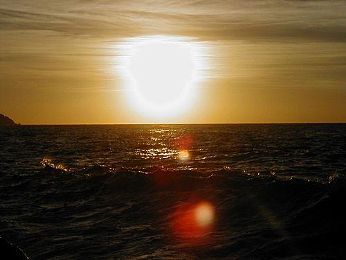 Valldemosa - Puesta de sol en Sa Marina
