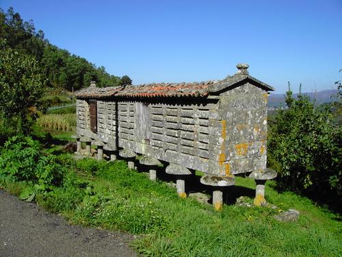 Hórreo en Vilaboa