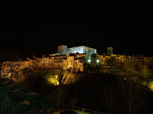 Santa Pau, Garrotxa (Girona)