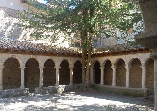 Sant Llorenç de Morunys, Solsonès, claustre romànic RI-51-0004218