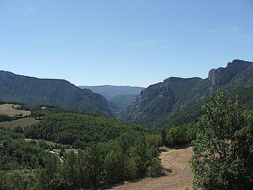 Vista des de Montcortes