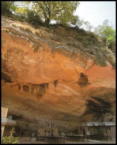 Virgen de La Cueva, Infiesto.