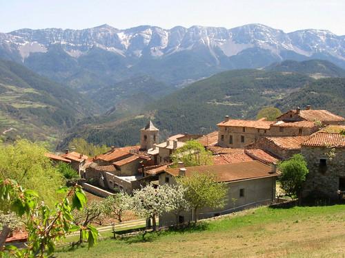 Travesseres, Sierra del Cadi