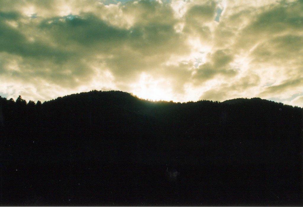 Kruth, Sunset