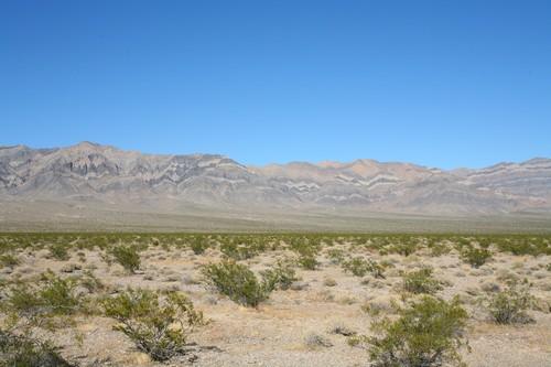 Desert Mountains hwy 178, California/Nevada Border