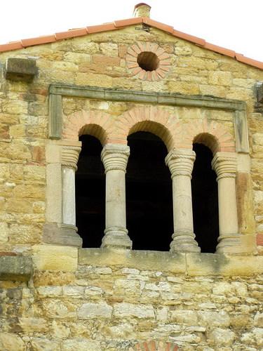 Santa Mª de Bendones, Oviedo, España