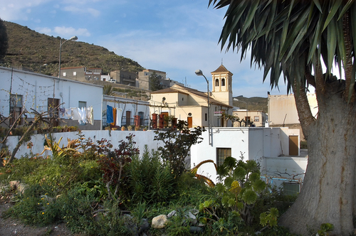 Santa Fe de Mondújar, entrada principal
