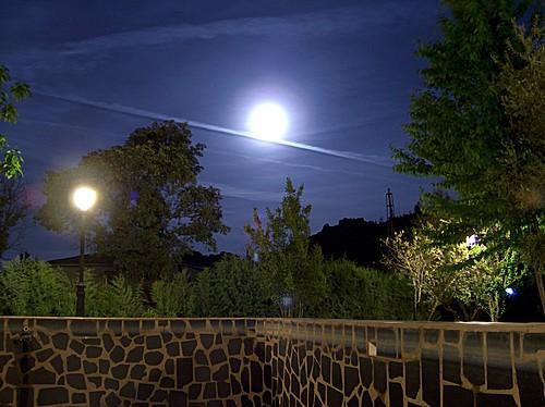 Puerto Roque con luna llena