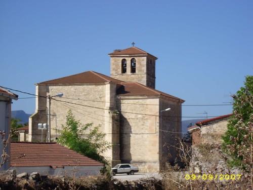 Parte trasera de la iglesia de San Pedro