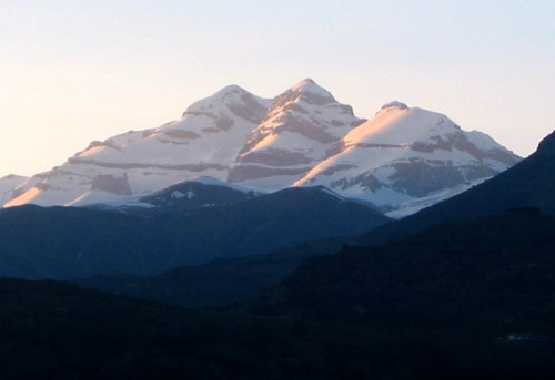 Monte Perdido desde Laspuña