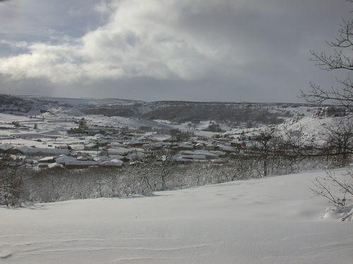 Montorio city nevado
