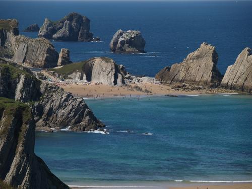 Cantabria, Playa de La Arnia