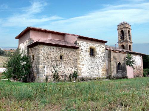 VILLARTA (Municipio de VILLARTA-QUINTANA). (Valle del río Oja). Iglesia parroquial.