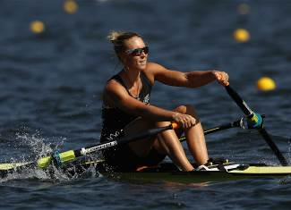 Twigg, Emma - Rowing - New Zealand - Women's Single Sculls - Women's Single Sculls Heat 1 - LAG - Lagoa Stadium