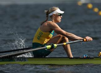 Brennan, Kimberley - Rowing - Australia - Women's Single Sculls - Women's Single Sculls Heat 1 - LAG - Lagoa Stadium