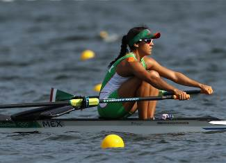 Lechuga Alanis, Kenia - Rowing - Mexico - Women's Single Sculls - Women's Single Sculls Heat 1 - LAG - Lagoa Stadium