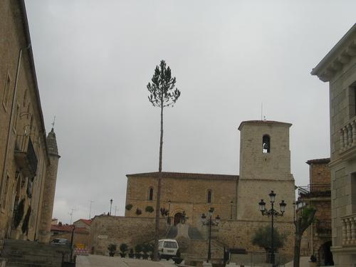 Plaza de Santo Domingo. Caleruega