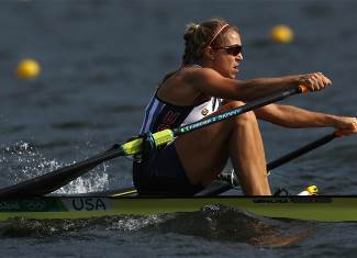 Stone, Genevra - Rowing - United States - Women's Single Sculls - Women's Single Sculls Heat 1 - LAG - Lagoa Stadium