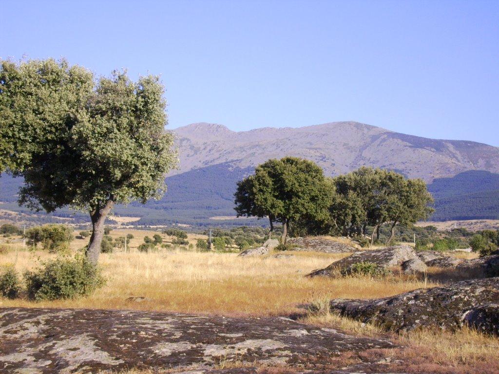 La Mujer Muerta desde Ortigosa del Monte
