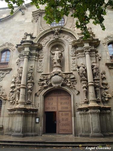 Fachada del Santuario de San Ignacio de loyola (Manresa)