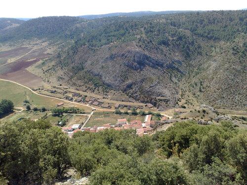 Megina desde el cerro S. Cristobal. Antena