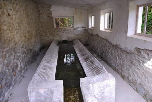 Alcontar, antiguo lavadero en buen estado, acceso impracticable