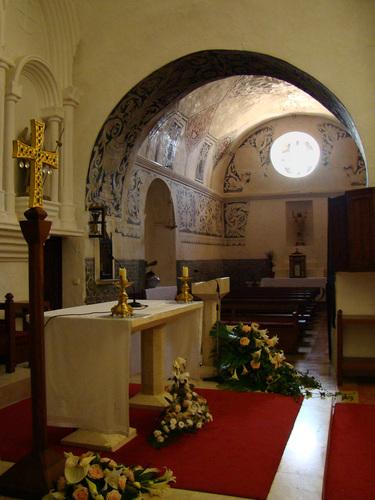 2008.07. - Ibiza-Sant Miquel, 15th century church interior - Ibiza-Sant Miquel, 15. századi tempolom bels?