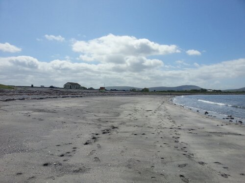 It's a beach, it's sunny, and it's in Ireland!