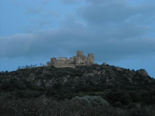 Castillo de Belvis de Monroy. Cáceres. Enero de 2009