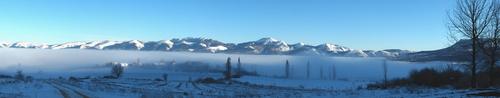 Egileor, entre nubes y nieve