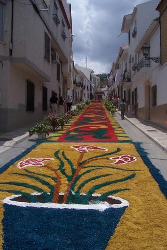 Corpus 2006.Calle Feria