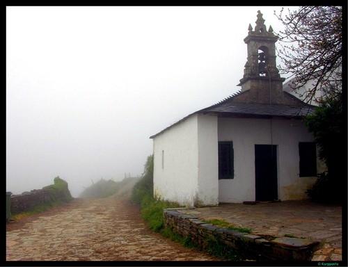 Ermita  en A Furela - Camino de Santiago