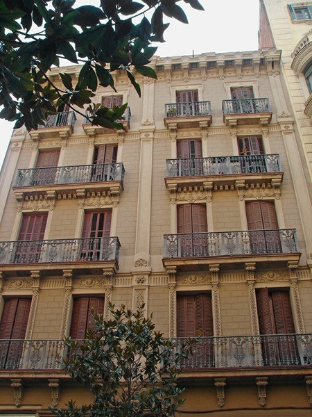 Gracia district, Barcelona.