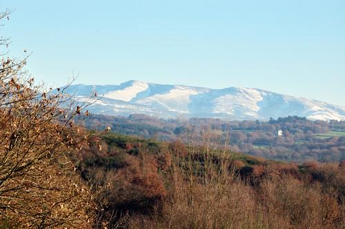 Snow-capped Sierra de Pineira
