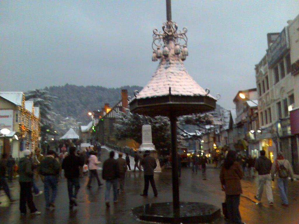 Scandal Point The Mall, Shimla, Himachal Pradesh