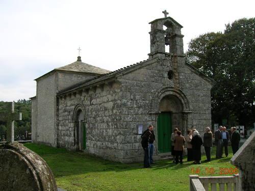 Iglesia románica de S. Román da Retorta