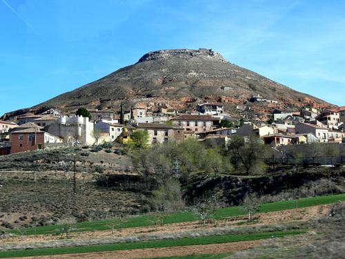 HITA (Provincia de Guadalajara). Vista Panorámica.