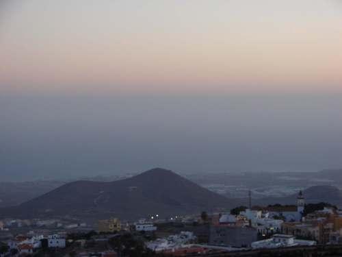Sunset over Tenerife