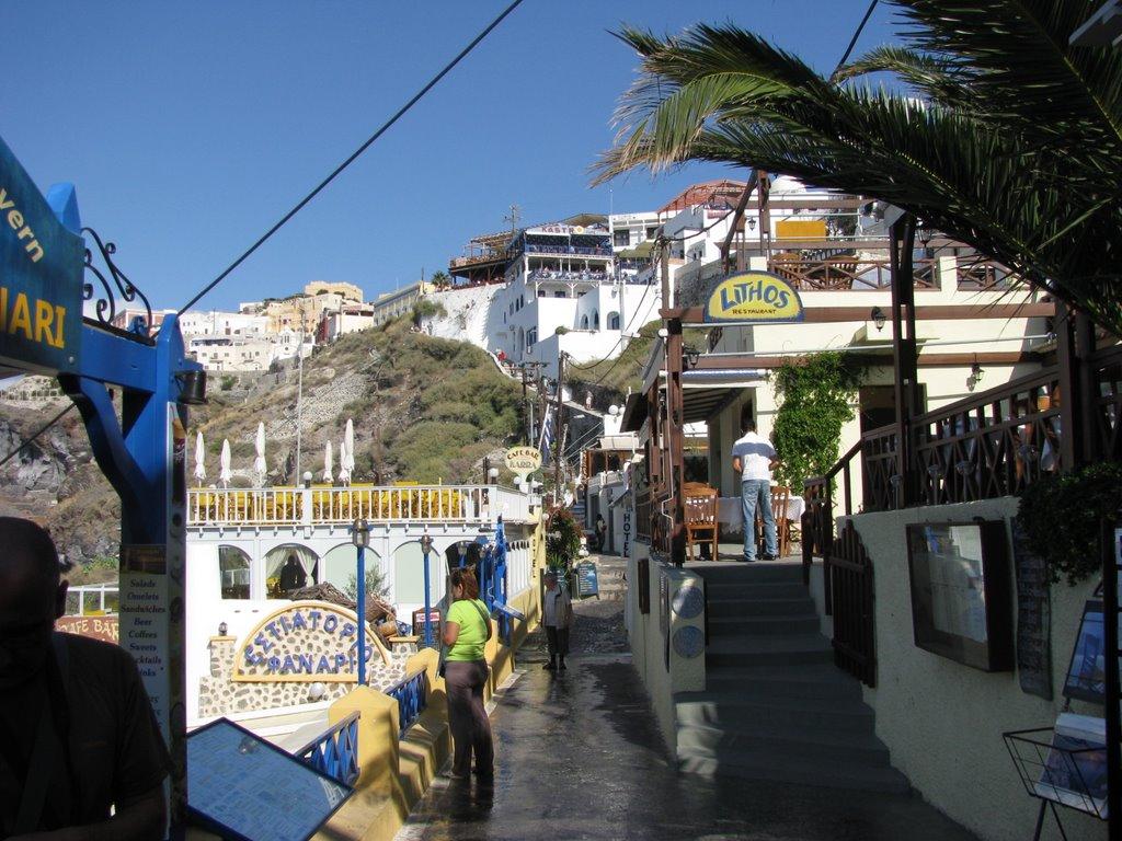 Grecia Santorini Panorama (Ottobre 2008)