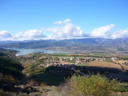 El pantano de san Antonio desde Aramunt viejo