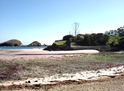Playa de Porcìa in low tide - August 2004