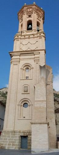 Torre antigua San Juan Evangelista (Peralta)